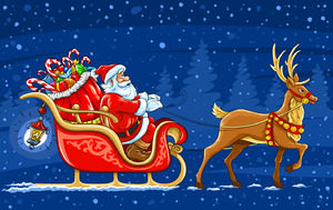 クリスマスと年末は依頼が多いです
