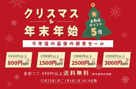 2020年クリスマスと年末